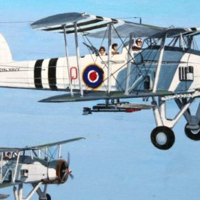 Aviation Artwork of Local Hermanus Artist Derrick Dickens
