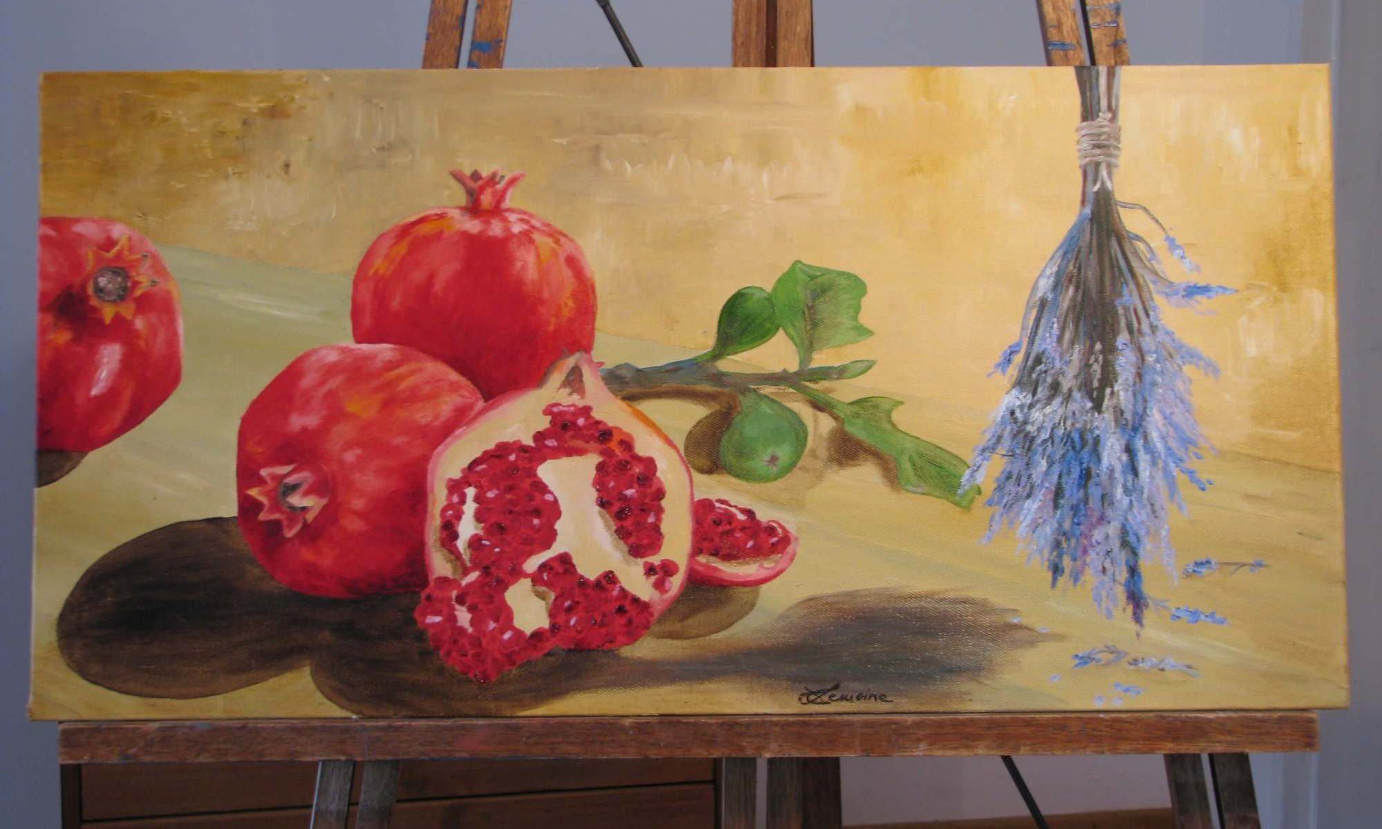 pomegranates-with-lavendar
